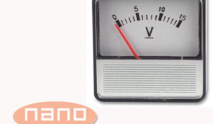 INDIKATOR NAPETOSTI ANALOGNI 0-15V SD506/0-15V #1