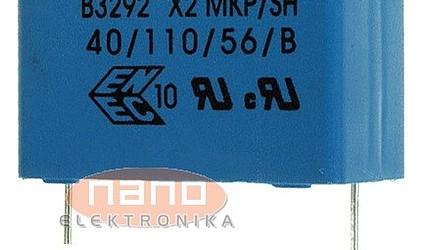 1,5uF 275V AC 27,5mm X2 FOLIJSKI #1