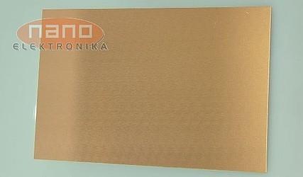 VITRO PLOŠČA 100x160 DVOSTRANSKA FR-4 / 1,6mm NANOS BAKRA 75um #1