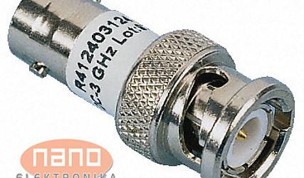 ADAPTER BNC MOŠKI / COAX 1W 10DB 3GHz R412420124 #1