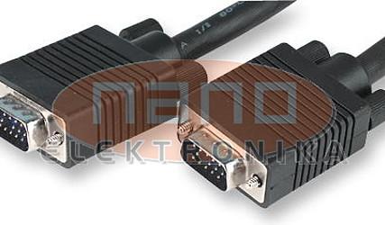KABEL VGA DB15 M / DB15 M TRI VRSTIČNI HD 30m JR9755-30M #1