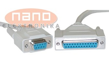 ADAPTER DB25 Ž / DB9 Ž #1