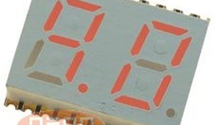 DISPLEJ HDSP-C5E3 13.1mm RDEČ #1