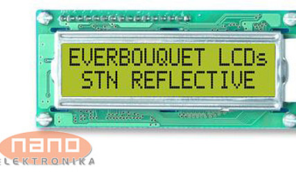 DISPLEJ LCD 1x16 MC16011A-SYR #1