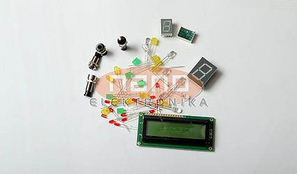 DISPLEJ LCD 2x16 MIKROELEKTRONIKA-55 #1
