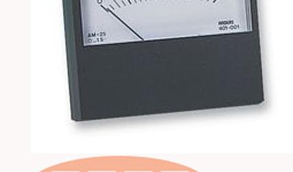 INDIKATOR TOKA ANALOGNI 0-100uA am25 0-100 78x60mm ANDERS ELECTRONICS #1