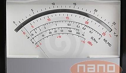 INDIKATOR TOKA ANALOGNI 0-10A F3PAM602-10A #1