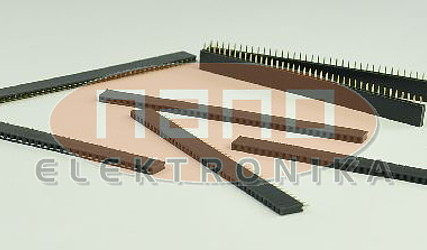 KONEKTOR SAMTEC 12POLNI BCS-112-L-S-TE 2,54mm #1
