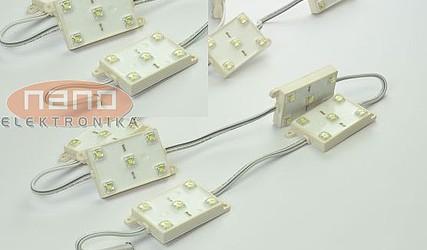 LED MODUL 2xBELA HLADNA SMD 12VDC 1044UW2-05-05-12VW #1