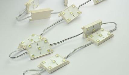 LED MODUL 5xBELA HLADNA SMD 12VDC 1044UW2-05-05-12VW #1