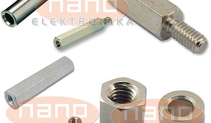 DISTANČNIK KOVINSKI M2.5 5mm M/Ž M2.5X5-NI #1