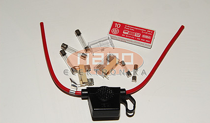 VAROVALKA CEVNA 3,6x10mm POČASNA 0,5A 8020.0511.PT - SCHURTER #1